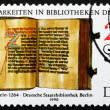Postage stamp GDR 1990 Rules of an Order, Book — Stock Photo