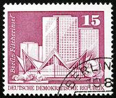 Postage stamp GDR 1973 Fisherman's Island, Berlin — Zdjęcie stockowe