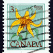 Postage stamp Canada 1977 Canada Lily, Lilium Canadense, Flower — Stock Photo