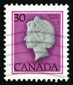Znaczek kanada 1982 r. królowa elżbieta ii, królowa anglii — Zdjęcie stockowe