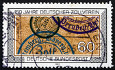 Postage stamp Germany 1983 German Customs Union — Stock Photo