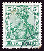 Postage stamp Germany 1902 Germania, Personification of Germany — Stock Photo