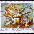 Postage stamp Austria 1968 Vanquished Demons, by Paul Troger - Stockfoto