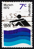 Postage stamp Australia 1972 Rowing — Stock Photo