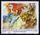 Postage stamp Austria 1968 The Triumph of Apollo — Stock Photo