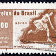 Postage stamp Brazil 1960 MariE. Bueno — Stock Photo #17747275