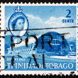 Postage stamp Trinidad and Tobago 1960 Queen — Stock Photo
