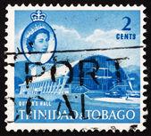 Reine de trinidad et tobago 1960 timbre-poste — Photo