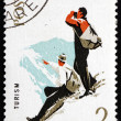 Postage stamp Romani1965 Mountaineering, Spartacist Games — Stock Photo #17974487
