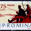 Postage stamp Romania 1962 Fishing Scene, Recreation — Stock Photo #17974917