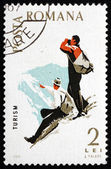 Postage stamp Romania 1965 Mountaineering, Spartacist Games — Stock Photo
