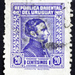 Postage stamp Uruguay 1944 Artigas, General and Patriot — Stock Photo