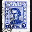 Postage stamp Uruguay 1948 Artigas, General and Patriot — Stock Photo