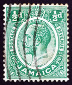 Postage stamp Costa Rica 1927 King George V — Stock Photo