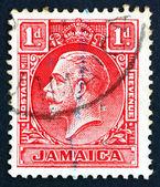 Postage stamp Costa Rica 1921 King George V — Stock Photo