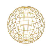 Wired sphere — Stock Photo
