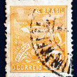 Postage stamp Brazil 1926 Allegory of Aviation — Stock Photo #18025863