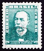 Poštovní známka brazílie 1954 joaquim duarte murtinho, politik — Stock fotografie