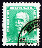 Postage stamp Brazil 1954 Rui Barbosa de Oliveira, Politician — Stock Photo