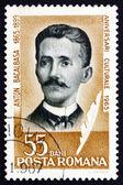 Postage stamp Romania 1965 Anton Bacalbasa, Writer — Stock Photo