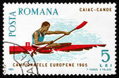 Poštovní známky rumunsko 1965 kanoistika — Stock fotografie