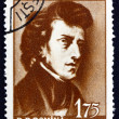 Postage stamp Romania 1960 Frederick Chopin, Polish Composer — Stock Photo