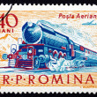 Postage stamp Romania 1963 Steam Locomotive — Stock Photo