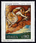 Postage stamp Italy 1975 Flora, Painting by Guido Reni — Stock Photo