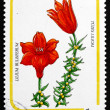 Postage stamp Hungary 1985 Fire Lily, Flower — Foto de Stock