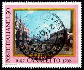 Postage stamp Italy 1968 The Small St. Mark�s Place — Stock Photo