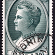 Postage stamp Greece 1956 Queen Olga of the Hellenes — Stock Photo