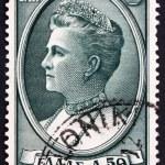 Постер, плакат: Postage stamp Greece 1956 Queen Olga of the Hellenes