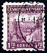 Postage stamp Czechoslovakia 1926 Strahov Monastery — Stock Photo
