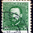 Stock Photo: Postage stamp Czechoslovaki1934 Bedrich Smetana, Composer