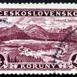 Stock Photo: Postage stamp Czechoslovaki1927 Great Tatra, Mountains