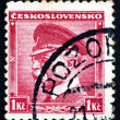 Postage stamp Czechoslovakia 1937 Tomas Garrigue Masaryk — Stock Photo