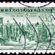 Постер, плакат: Postage stamp Czechoslovakia 1934 Consecration of Legion Colors
