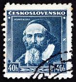 Postage stamp Czechoslovakia 1936 Jan Amos Comenius — Stock Photo