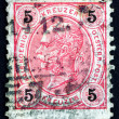 Postage stamp Austri1890 Franz Josef, Emperor of Austria — Stock Photo #19363629