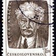 Stock Photo: Postage stamp Czechoslovaki1953 Leos Janacek, Czech Composer