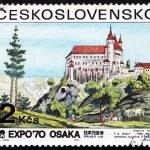 Postage stamp Czechoslovakia 1970 View of Orlik Castle — Stock Photo