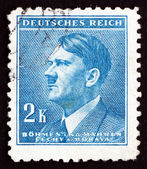 Postage stamp Czechoslovakia 1942 Adolf Hitler — Stock Photo