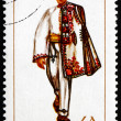 Postage stamp Romania 1969 Man from Dolj, Costume — Stock Photo