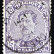 Postage stamp Belgium 1915 King Albert I of Belgium — Stock Photo