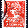 Postage stamp Belgium 1932 Mercury, God of Trade — Stock Photo