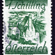Postage stamp Austria 1925 Church of Minority Friars — Stock Photo