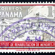 Postage stamp Panama 1960 Boys Doing Farm Work — Stock Photo