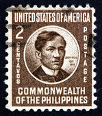 Postage stamp Philippines 1946 Jose Rizal, National Hero — Stock Photo