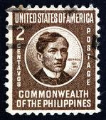 Postage stamp Philippines 1946 Jose Rizal, National Hero — Stock Photo