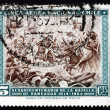 Postage stamp Chile 1965 Battle of Rancagua — Stock Photo